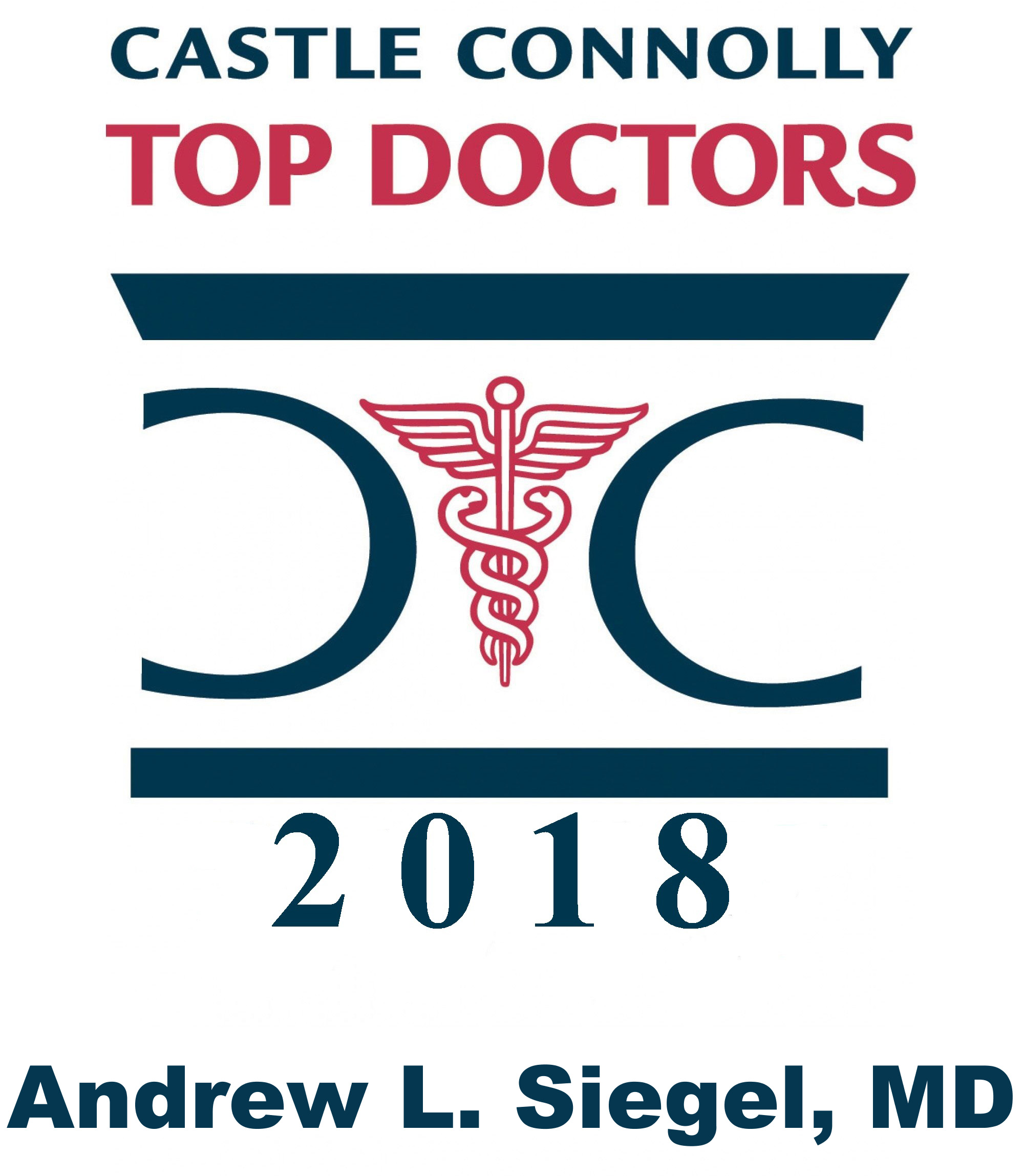 Dr. Andrew Siegel - 2018 Top Doctors Logo (large)
